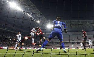Le stade l'Allianz-Riviera de Nice lors d'un match de l'OGCN contre Lyon, le 1er novembre 2014.