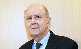 Jean-Marc Sauve, le président de la Commission indépendante sur les abus sexuels dans l'Eglise (CIASE), le 8 février 2018 à Paris.