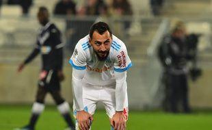 Kostas Mitroglou, ici lors d'un match de Ligue 1 à Bordeaux en novembre.
