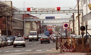 Le site d'Arc International à Arques, dans le Pas-de-Calais. (Archives)