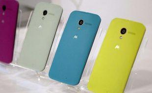Des Moto X, de Motorola, fabriqués au Texas.