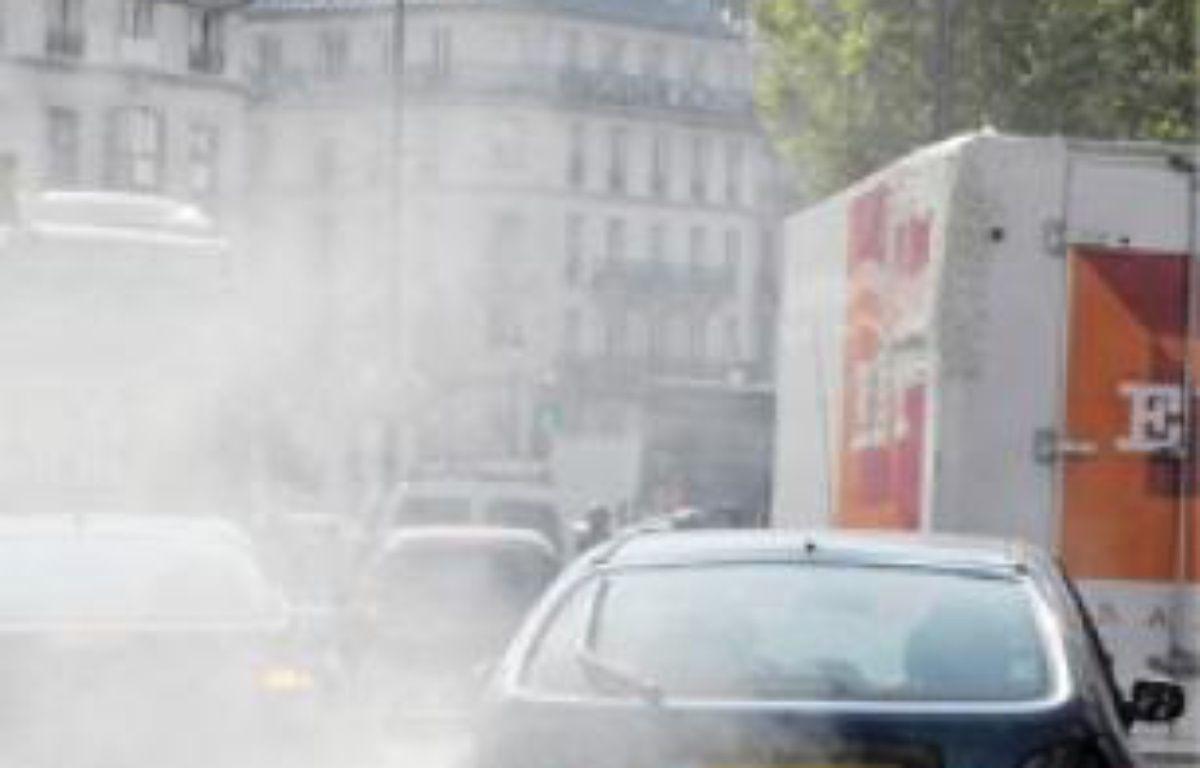 Des pollutions franciliennes surtout dues au trafic et au chauffage. –  S. ORTOLA / 20 MINUTES