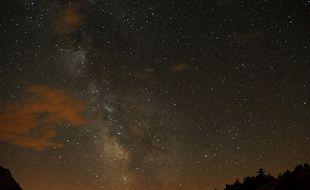La nuit des étoiles en 2009 à Saint-Martin-de-Queyrières (Hautes-Alpes)