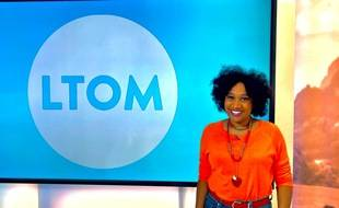 La journaliste Nella Bipat présente l'émission «Les Témoins d'Outre-mer», diffusée à 8h40, sur France 3.