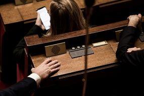 Dans l'hémicycle de l'Assemblée nationale. (illustration)