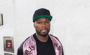Le rappeur 50 Cent dans les rues de Londres