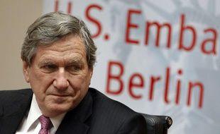 Le diplomate américain Richard Holbrooke à Berlin le 11 octobre 2010.