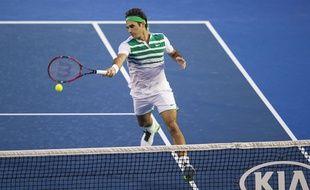 Roger Federer, le 18 janvier 2015 à Melbourne
