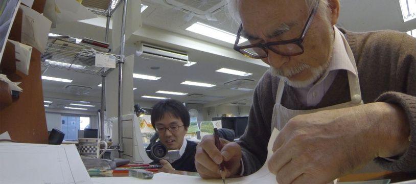 Hayao Miyazaki dans Never-Ending Man de Kaku Arakawa