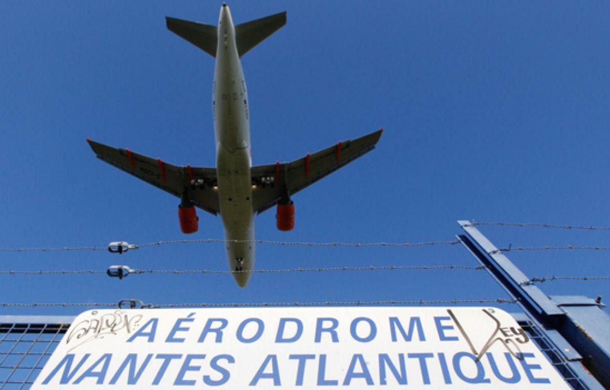 Un avion se pose sur l'aéroport Nantes-Atlantique – Fabrice Elsner/20MINUTES