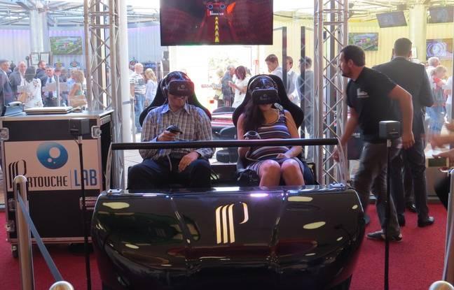 Les jeux de réalité virtuelle.