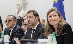 Christophe Castaner, Laurent Lunez, Yael Braun-Pivet.
