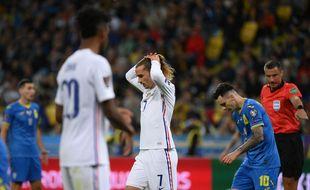 Antoine Griezmann, symbole des difficultés actuelles de l'équipe de France.