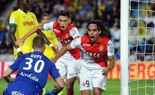 Falcao a marqué l'unique but  de la rencontre juste avant la mi-temps.