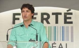Le Premier ministre canadien Justin Trudeau à Montréal, le 14 août 2016.