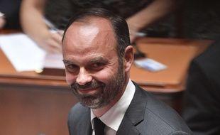 Edouard Philippe, le 5 juillet 2017 à l'Assemblée.  Credit:PDN/SIPA/1707060136