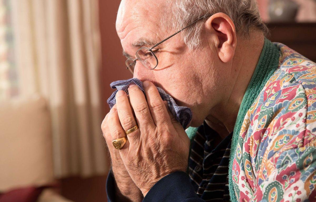 Illustration d'un homme malade de la grippe.  – ISOPIX/SIPA