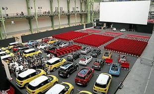 L'expérience du drive-in a aussi été menée au Grand Palais, à Paris, en avril 2013