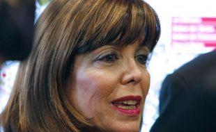La maire de Puteaux, Joelle Ceccaldi-Raynaud, le 4 décembre 2009 à La Defense