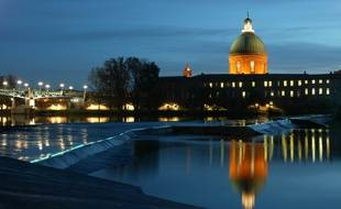 Toulouse by night.