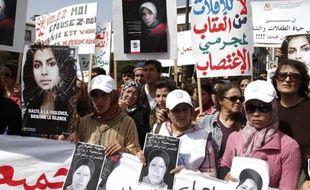 Une semaine jour pour jour après le suicide d'une adolescente contrainte d'épouser son violeur, plusieurs associations féminines marocaines ont organisé samedi un sit-in devant le parlement pour réclamer la réforme d'une loi discriminatoire envers les femmes.