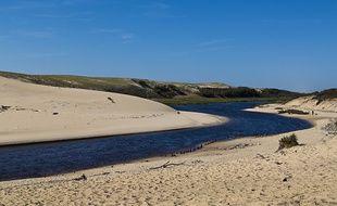 Le courant d'Huchet est classé pour sa réserve naturelle.