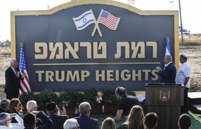 Proche-Orient: Netanyahou inaugure une colonie au nom de Trump sur le Golan occupé