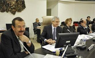 Le président du conseil général, Claude Bartolone, parle d'un «budget de révolte».