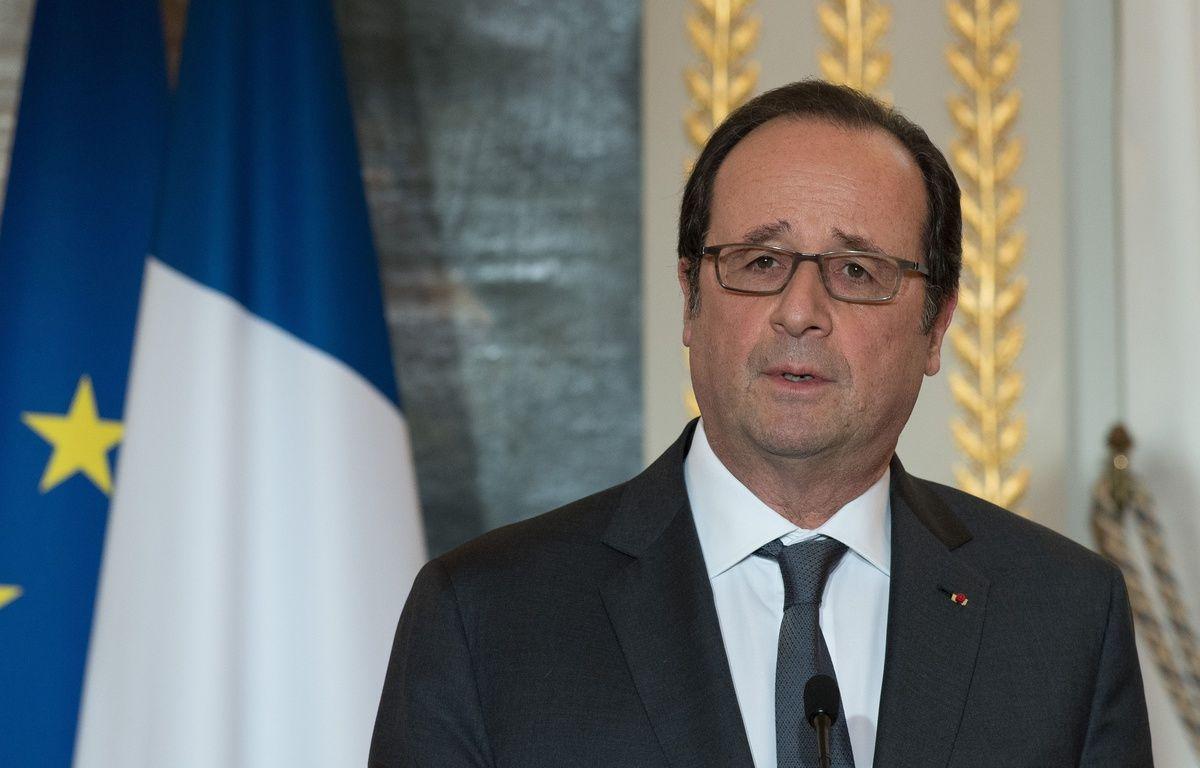 Le président François Hollande le 10 janvier 2016 à l'Elysée – VILLARD/SIPA