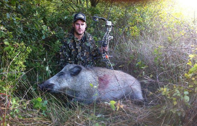 Jean-Charles Valladont à la chasse