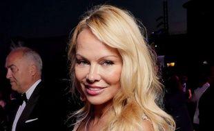 Pamela Anderson à Cannes le 23 mai 2017.