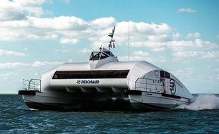 La navette fluviale entre Bordeaux et Royan ressemblerait à ce modèle.