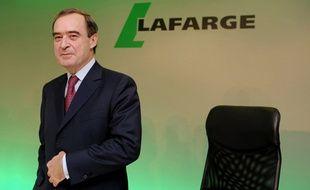 Bruno Lafont, ex-PDG de Lafarge, a été mis en examen le 9 décembre dernier.