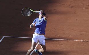 Nadal en demi-finale de Roland-Garros, le 9 juin 2017.