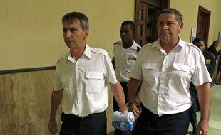Bruno Odos et Pascal Fauret en République dominicaine, le 17 juin 2014.