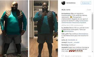 Issa Doumbia sur Instagram mi novembre 2016.