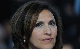 La secrétaire d'Etat à la Santé, Nora Berra, le 5 mai 2011, à Fontainebleau (Seine-et-Marne).
