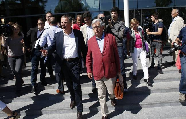 L'ex-ministre PS Jean-Pierre Chevènement invité de Nicolas Dupont-Aignan en 2015