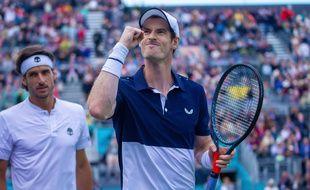 Andy Murray au tournoi du Queen's
