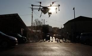 Un drone, ici à Cannes. (illustration)