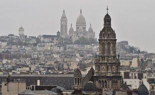 Illustration de Montmartre à Paris, le 4 décembre 2014.
