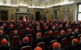 """Benoît XVI redevenu """"simple pèlerin"""", la recherche de son successeur à la tête de l'Eglise commence, tandis que les langues se délient parmi les cardinaux pour critiquer le gouvernement de l'Eglise ainsi qu'une démission historique souvent mal comprise."""