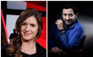 La secrétaire d'Etat Marlène Schiappa et le présentateur Cyril Hanouna ont présenté un grand débat en direct sur C8. Photomontage.
