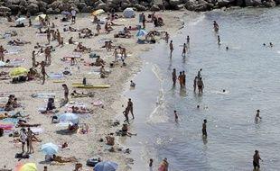 La plage du Prophète est souvent saturée pendant l'été.