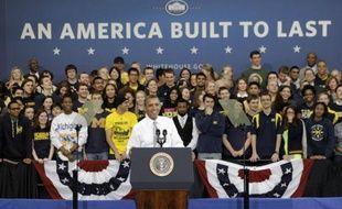 """Le """"rêve américain"""", au coeur de toute élection présidentielle, a du plomb dans l'aile en cette année 2012, où les inégalités entre riches et pauvres n'ont jamais été aussi criantes, fournissant un argument de choix au sortant Barack Obama."""