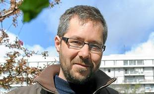 Florent Yvert, écologue en région parisienne.