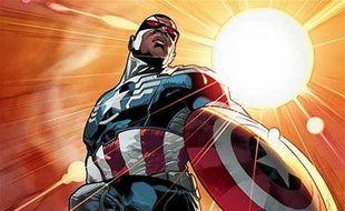 Le Faucon devient le nouveau Captain America