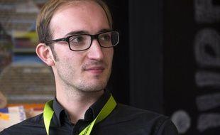 Stanislas Jourdan, coordinateur national du Mouvement français pour un revenu de base qui défend cette idée depuis 2013.