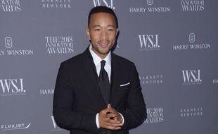 L'acteur et chanteur John Legend