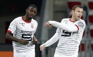Paul-Georges Ntep et Sylvain Armand ont manqué les trois derniers penaltys du Stade Rennais en Ligue 1.